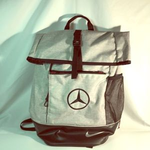 Limited edition Nike bag embroidered Benz logo